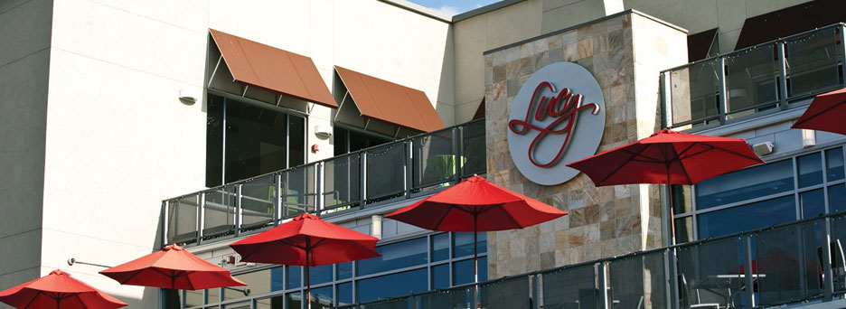 Lucy Restaurant Above The Club At