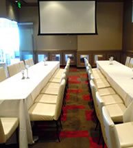 The H4 Private Dining Room at Lucy Restaurant, Comedy Works South, Denver Colorado