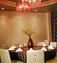 The Howlett Private Dining Room at Lucy Restaurant, Comedy Works South, Denver Colorado